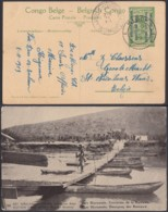 Congo Belge 1919 - Entier Postal 5 C En Carte Postale Nr. 36 - Vue: Vers Biaramulo.Traversée De La Ruwuwu.(DD) DC6115 - Interi Postali