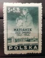 Pologne 1946 Y&T N°467 ** Mémoire Des Victimes - Neufs