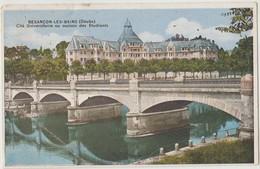 Cpa ( 25 Doubs)  Besancon , Cité Universitaire Ou Maison Des Etudiants 1934 - Besancon