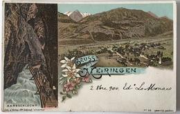 V 52061 Gruss Aus Meiringen ( 1900 ) - Altri
