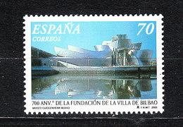 Spagna  Spain  -  2000. Vista Di Bilbao, Citta Della Cultura.View Of Bilbao, City Of Culture. MNH - Geografia