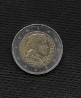 EURO / LETTONIE -LATVIJAS  2014 / Pièce De 2 Euros  De Circulation 1ère Année / Usage Courant / - Letland