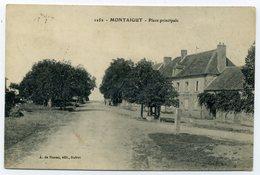 CREUSE. LOT De 8 CPA (Montaigut, St-Christophe, Nouziers, Bénévent,Ladapeyre, Naillat) - Other Municipalities