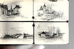 62 QUEANT 4 VUES 1916 - France