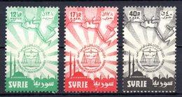 1957 SYRIA LAWYERS CONGRESS MICHEL: 760-762 MNH ** - Siria