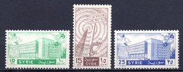 1958 SYRIA NEW POST OFFICE MICHEL: 767-769 MNH ** - Siria