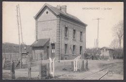 CPA 80 - GEZAINCOURT, La Gare - Otros Municipios