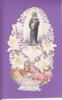 Image Pieuse Canivet Vierge Marie & Enfant Jésus - Santini
