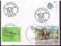 Argentina - 1998 - Cachets Spéciaux - Réunion Annuelle De L'association Paléontologique Argentine - Briefmarken