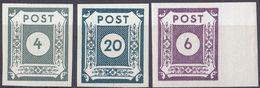 SASSONIA ORIENTALE - 1945/46 - Lotto Di 3 Valori Nuovi MNH: Yvert 13, 20 E 21, Come Da Immagine. - Zone Soviétique