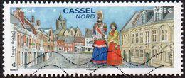 Oblitération Moderne Sur Timbre De France N° 5336 - Cassel (Nord) Les Géants - Gebraucht