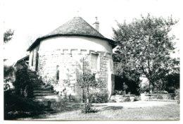 86300 BONNES - Le Prieuré Du XIIe Siècle - Vraie Photographie Papier Ilford - Francia
