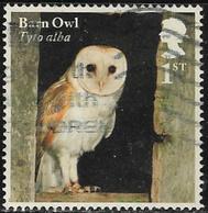 GB 2018 Owls 1st Type 6 Good/fine Used [39/31953/ND] - Usati