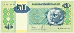 Angola - 50 Kwanzas - 10.1999 - Pick 146.a - Série CS - José Eduardo Dos Santos E Agostinho Neto - Angola
