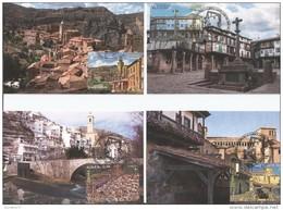 Spain 2016 - Pueblos Con Encanto - Maxicard Set - Sellos