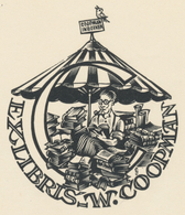 Ex Libris W. Coopman - Jef Leysen - Ex-libris
