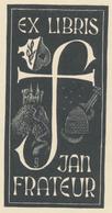 Ex Libris Jan Frateur - Jef Leysen - Ex-Libris