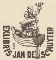 Ex Libris Jan De Schuyter - Jef Leysen - Ex-libris