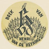 Ex Libris Henri Van De Heyning - Jef Leysen - Ex-libris