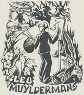 Ex Libris Leo Muyldermans - Leo Muyldermans - Ex-libris