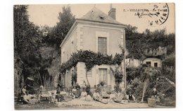 37 - VILLAINES - La Vallée -  Les Vanniers - Animée - 1915 (M51) - Autres Communes