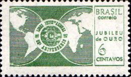 Brésil Poste N** Yv: 821 Mi:1134 Jubileu De Ouro Lions International - Brésil