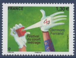 N° 5201 Festival De Court-métrage De Clermond-Ferrand Faciale 1,30 € - Unused Stamps