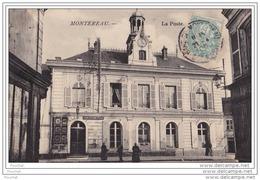 77)  MONTEREAU - La Poste - Montereau