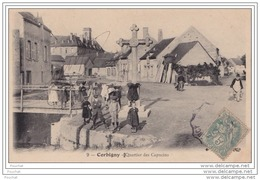 58) Corbigny (Nièvre)  Quartier Des Capucins  - (animée - Groupe D'enfants) - Corbigny
