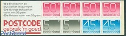 Netherlands 1980 2x5c, 2x45c, 4x50c Booklet, (Mint NH), Stamps - Stamp Booklets - Carnets Et Roulettes