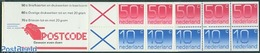 Netherlands 1982 5x10c, 5x50c Booklet, (Mint NH), Stamps - Stamp Booklets - Carnets Et Roulettes