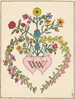 Verlovingskaart Waltrant Haltenbach En Werner Denz 1951 - Verlobung