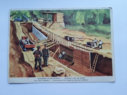 Switzerland - WW 2- Bau Einer Tankfalle - Altri