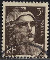 France Poste Obl Yv: 715 Mi:689 Marianne De Gandon (Beau Cachet Rond) - Francia