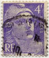France Poste Obl Yv: 718 Mi  794 Yv:0,15 Euro Marianne De Gandon (cachet Rond) - Francia