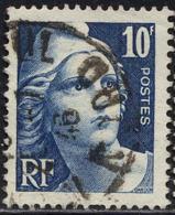 France Poste Obl Yv: 726 Mi:699 Marianne De Gandon T-douce (Beau Cachet Rond) - Francia
