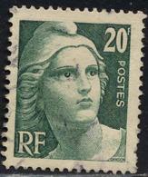 France Poste Obl Yv: 728 Mi:701 Marianne De Gandon T-douce (cachet Rond) - Francia