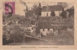 24 - SEGUR LE CHATEAU - Vue Générale Et Le Château - Otros Municipios