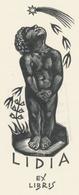 Ex Libris Lidia Bisiach - Tranquillo Marangoni (1912-1992) - Exlibris