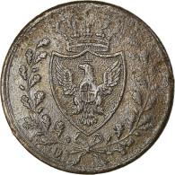 Monnaie, États Italiens, SARDINIA, Carlo Felice, Centesimo, 1826, Genoa, TTB - Regional Coins