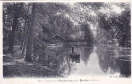 58 - Nievre  -  Chateau De GERMANCY , Pres Decize - Le Lac - France