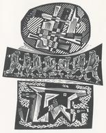 Nieuwjaarskaart  Carta Di Capodanno 1968 Tranquillo Marangoni - Tranquillo Marangoni (1912-1992) Gesigneerd - Prenten & Gravure