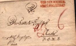 1800 Wien Magistratsbrief 4seitig - Austria