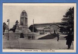 BESANCON Monument Et La Gare  ( TTB état Non écrite ) X299 - Besancon