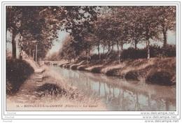 58) Monceaux Le Comte (Nièvre) Le Canal - Frankreich