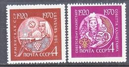 RUSSIA  3750-51    **    ARMENIA   WOMEN - Armenia