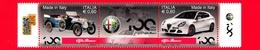Nuovo - MNH - ITALIA - 2010 - Made In Italy - Alfa Romeo - Vetture Dell'Alfa Romeo - Da BF - 0,60 × 2 - 6. 1946-.. Repubblica