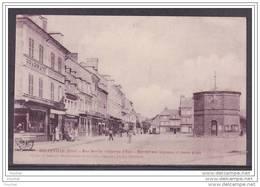 27) Beuzeville (Eure)  Rue Destin - Château D ' Eau - Marché Aux Légumes Et Menu Grain - France
