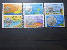 VEND BEAUX TIMBRES DES ILES VIERGES N° 252 - 257 , XX !!! - British Virgin Islands