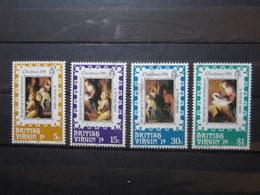 VEND BEAUX TIMBRES DES ILES VIERGES N° 424 - 427 , XX !!! - British Virgin Islands
